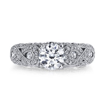 Diamond Engagement Ring, 0.54 ct tw