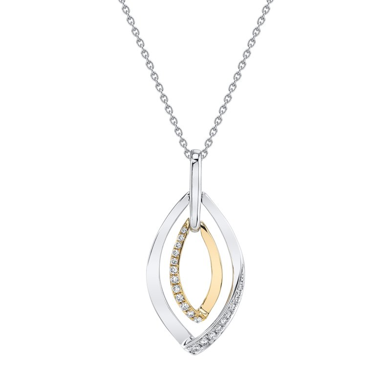 MARS Jewelry MARS 26870 Fashion Necklace, 0.15 Ctw.