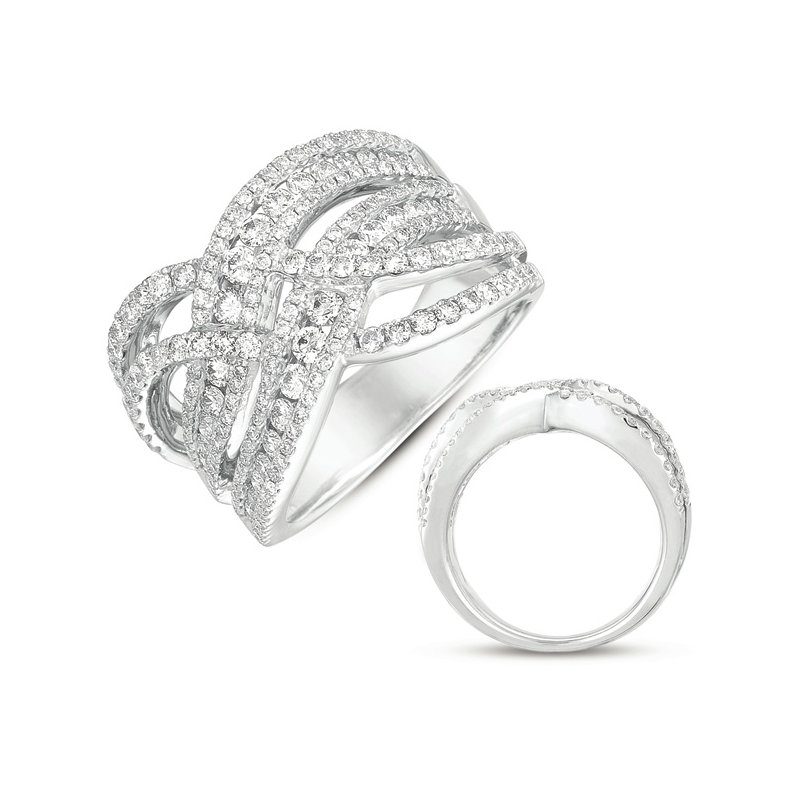 S. Kashi  & Sons White Gold Fashion Ring