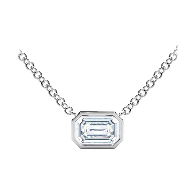 Forevermark Black Label The Forevermark Tribute™ Collection Emerald Diamond Necklace