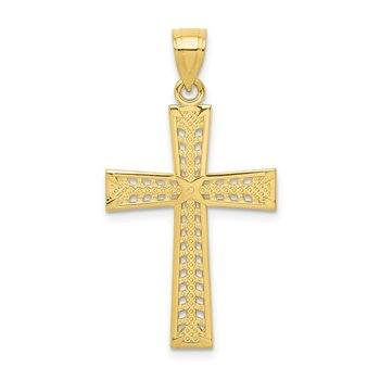 10k Cross Pendant