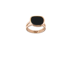 Roberto Coin 18Kt Gold Ring With Black Jade