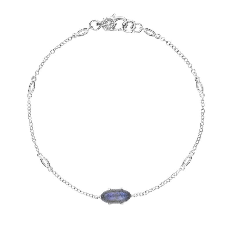 Tacori Fashion Solitaire Oval Gem Bracelet with Labradorite