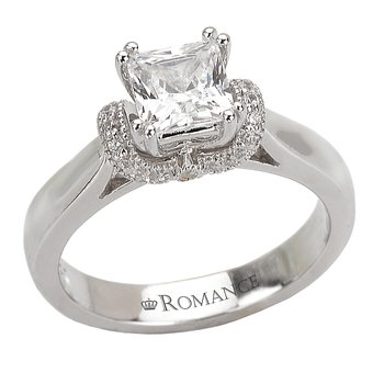 Trellis Semi-Mount Diamond Ring
