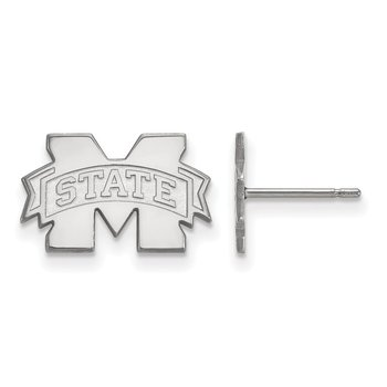 Gold Mississippi State University NCAA Earrings