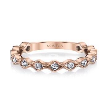 MARS 26209 Stackable Ring, 0.33 Ctw.
