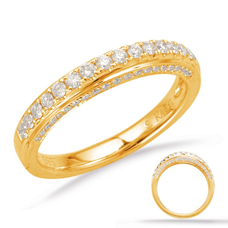 S. Kashi & Sons Bridal Yellow Gold Matching Band
