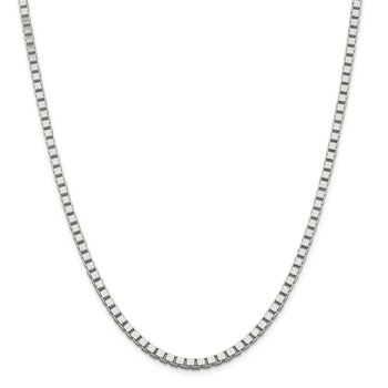 Sterling Silver 3.75mm Box Chain