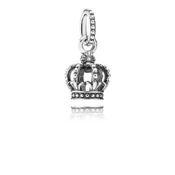Noble Splendor Crown Dangle Charm