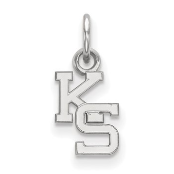 Sterling Silver Kansas State University NCAA Pendant
