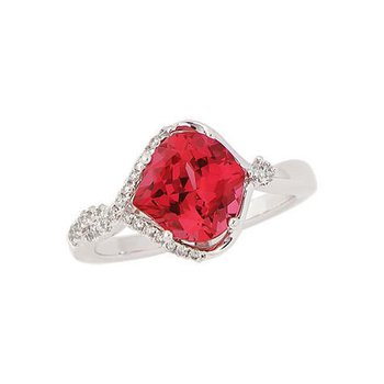 Padparadscha Ring-CR8246WPD