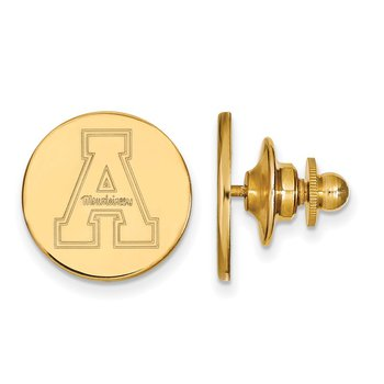 Gold Appalachian State University NCAA Lapel Pin