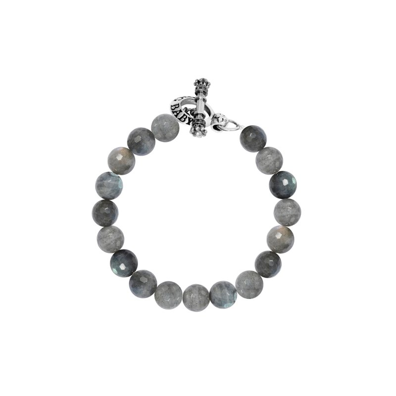 King Baby 10Mm Labradorite Bracelet W/ Toggle Clasp