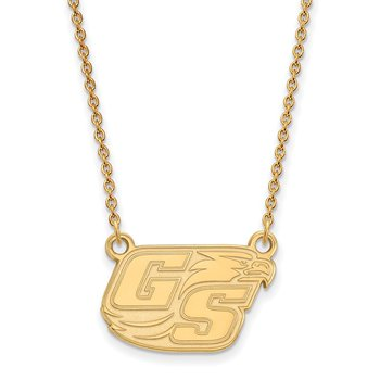 Gold-Plated Sterling Silver Georgia Southern University NCAA Necklace