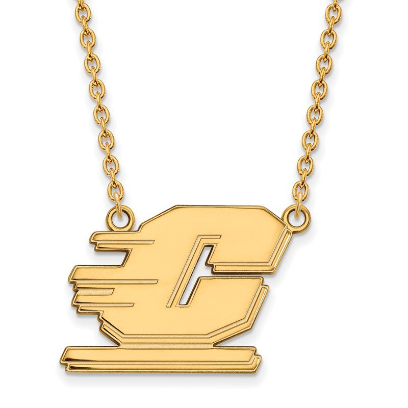 NCAA Gold Central Michigan University NCAA Necklace