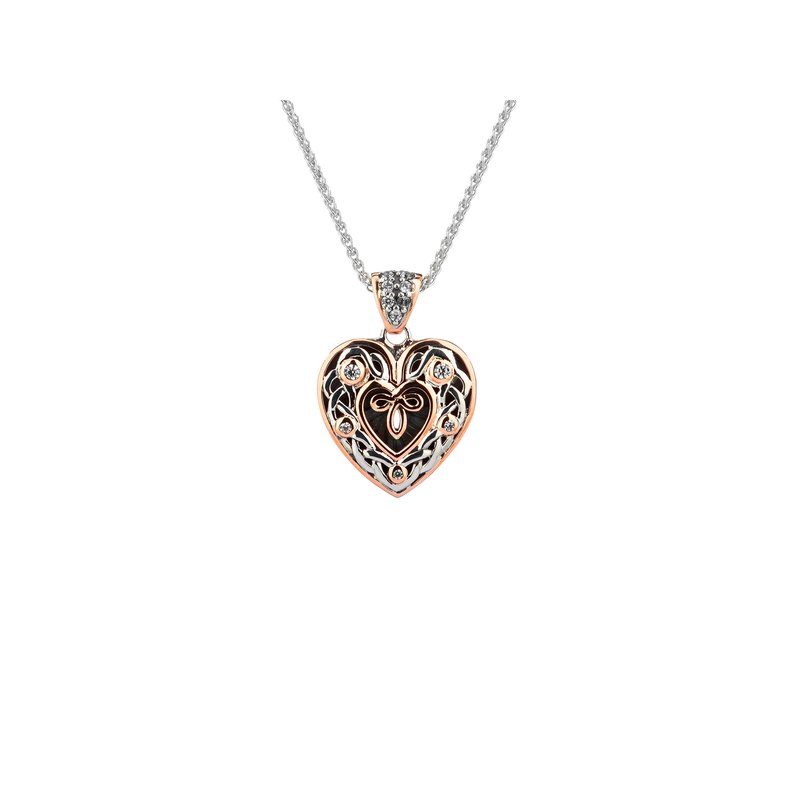 Keith Jack Celtic Heart Pendant Small