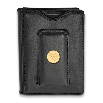 Gold-Plated Sterling Silver West Virginia University NCAA Wallet