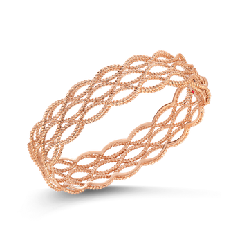 3 Row Bangle &Ndash; 18K Rose Gold