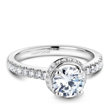 Noam Carver Vintage Engagement Ring B083-01A