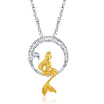 ARIANA MERMAID PENDANT
