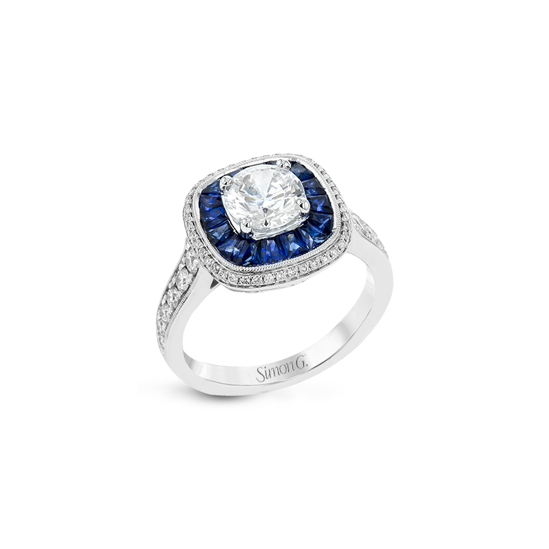 Simon G LR1126 ENGAGEMENT RING