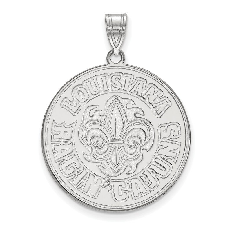 NCAA Sterling Silver University of Louisiana at Lafayette NCAA Pendant