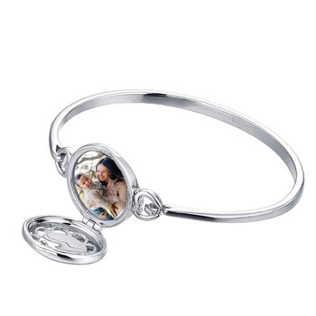 Maria Locket Bangle