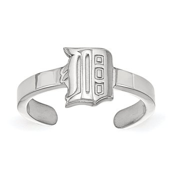 Sterling Silver Detroit Tigers MLB Ring