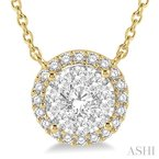 Crocker's Collection lovebright essential diamond necklace