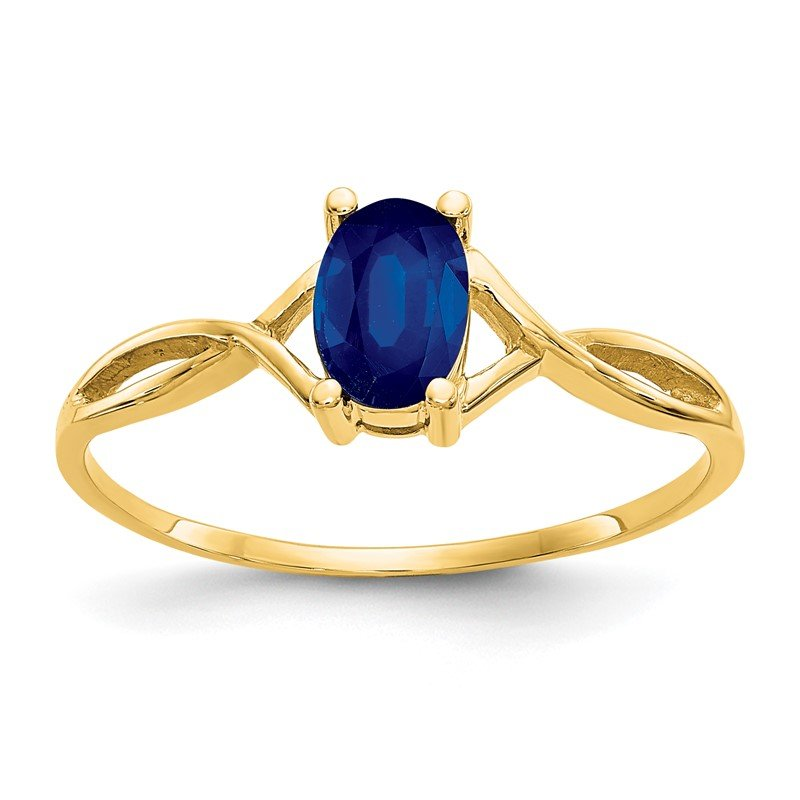 Quality Gold 14k Sapphire Birthstone Ring