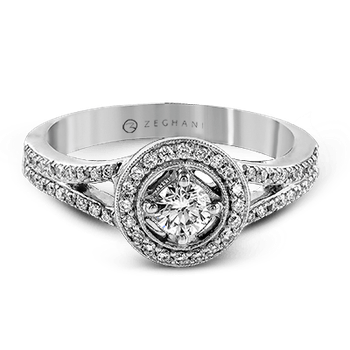 ZR345 ENGAGEMENT RING
