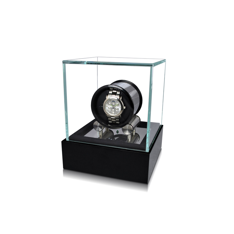 Orbita  Watch Winders Cristalo 1 Black Lacquer