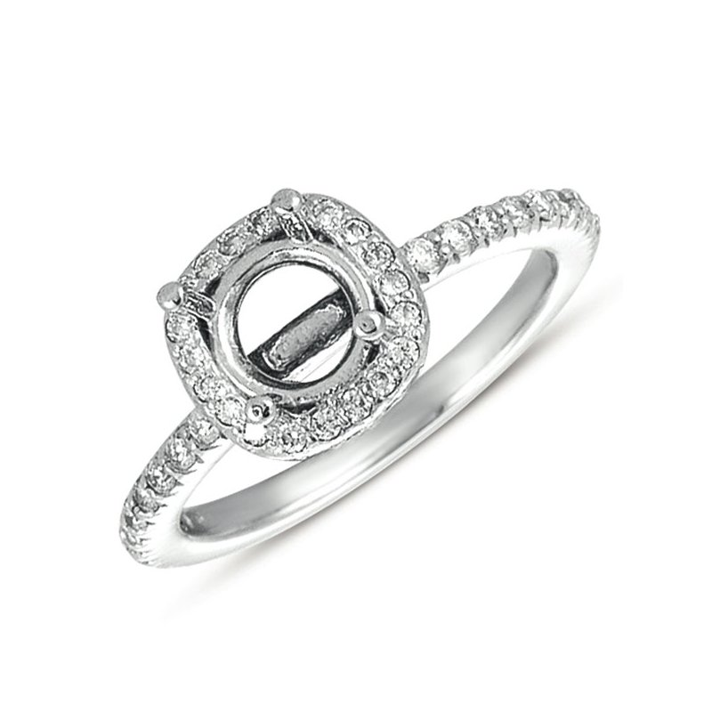 S. Kashi & Sons Bridal Engagement Ring halo
