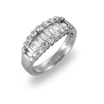 18K WG Diamond Wedding/Anniversary Band