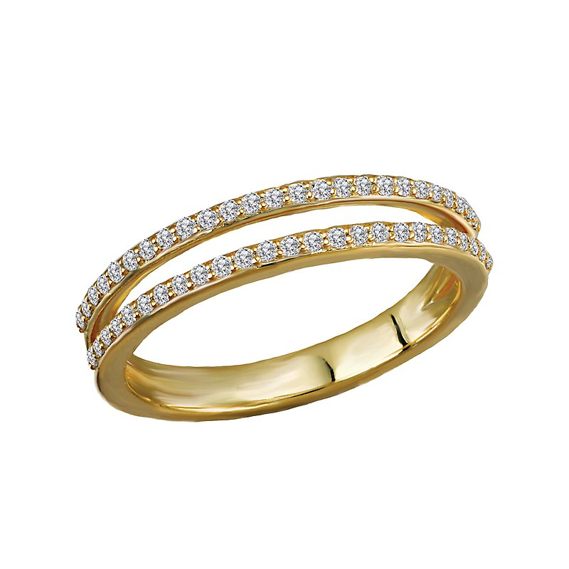 Tesoro Diamond Fashion Wedding Band