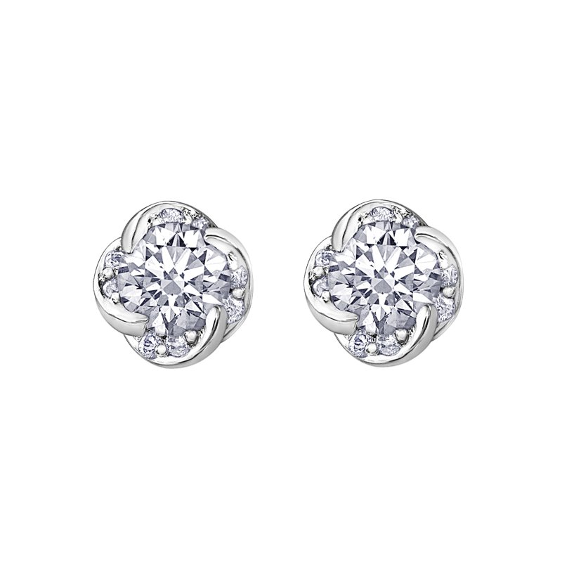 Maple Leaf Diamonds Maple Leaf Diamonds™ Wind's Embrace™ Earrings
