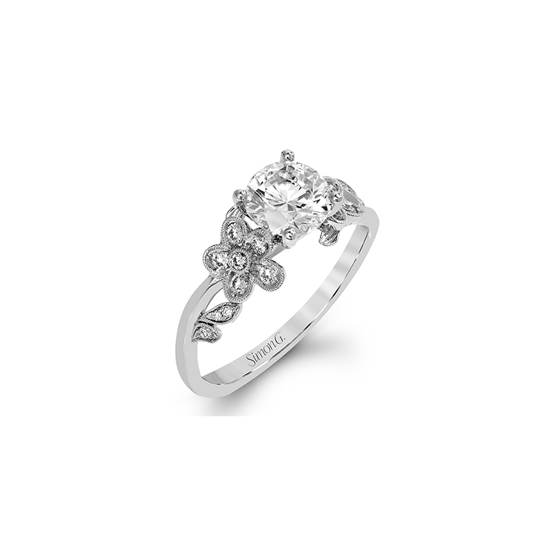 Simon G MR2615 ENGAGEMENT RING