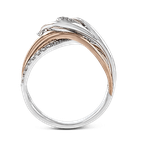 Zeghani ZR628 RIGHT HAND RING