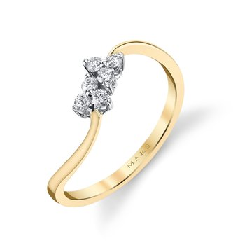 MARS 26773 Fashion Ring, 0.15 Ctw.
