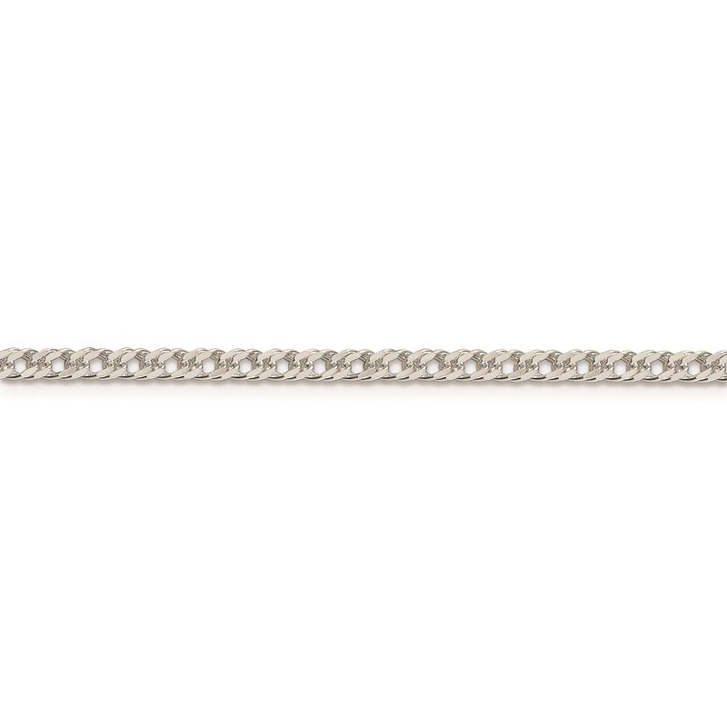 Quality Gold Sterling Silver 3.3mm Rambo Chain