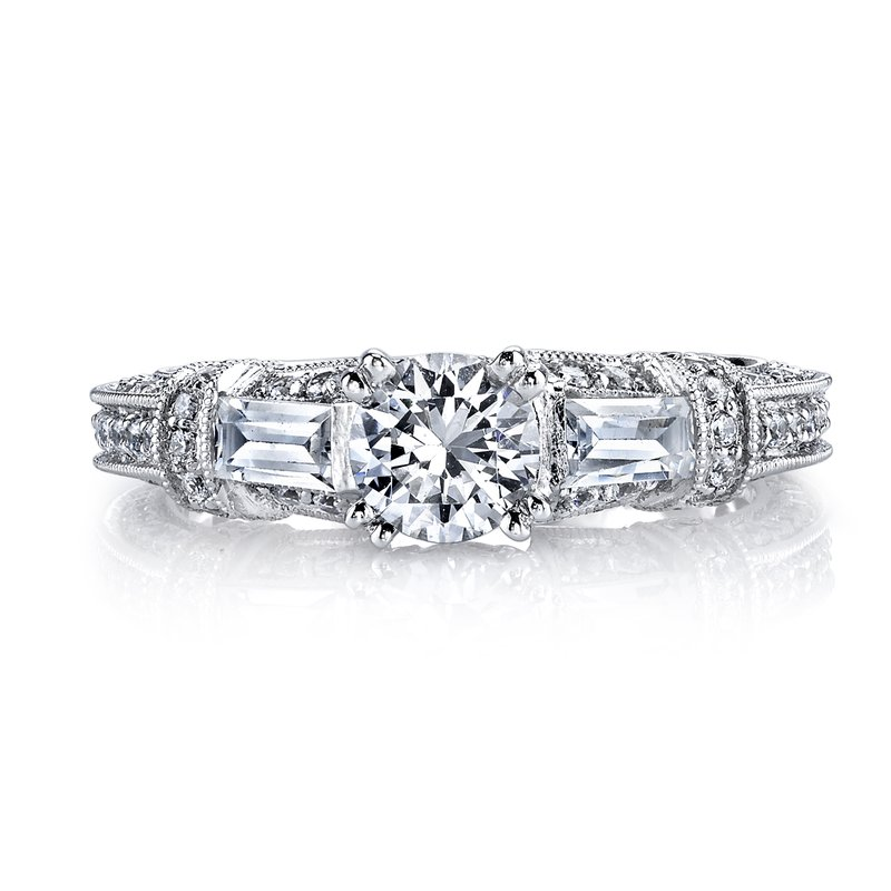 MARS Jewelry MARS 25234 Diamond Engagement Ring 0.86 Ctw.