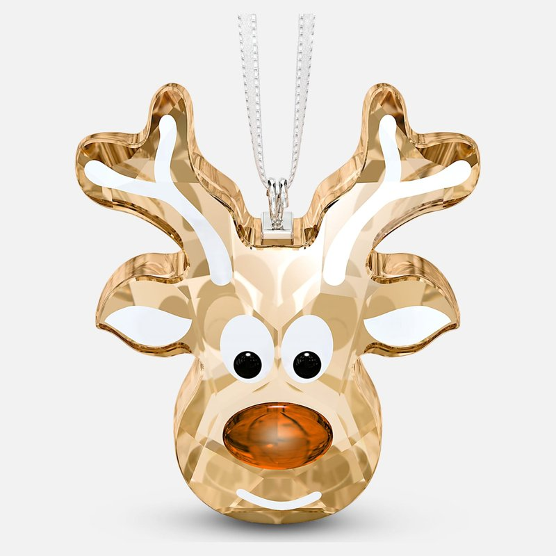 Swarovski Gingerbread Reindeer Ornament