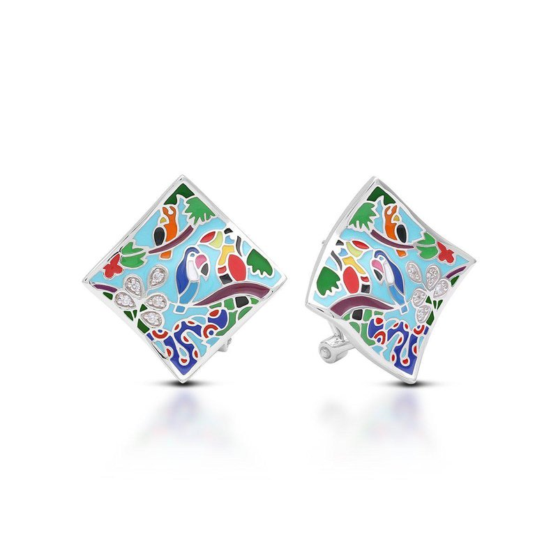 Belle Etoile Tropical Rainforest Earrings