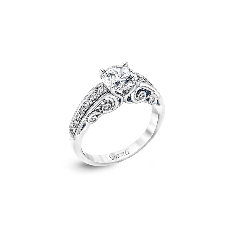 Simon G MR2415 ENGAGEMENT RING