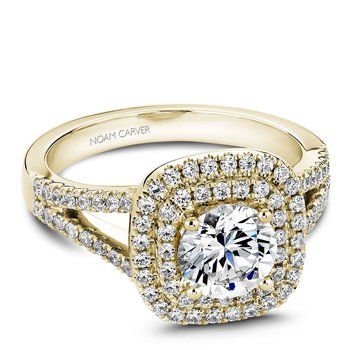 Noam Carver Vintage Engagement Ring B035-01YA