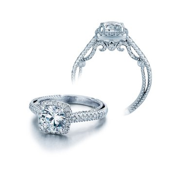 Insignia-7061CU White Gold Engagement Ring