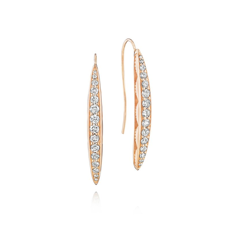 Tacori Fashion Pavé Surfboard Drop Earrings