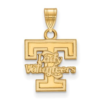 Gold University of Tennessee NCAA Pendant