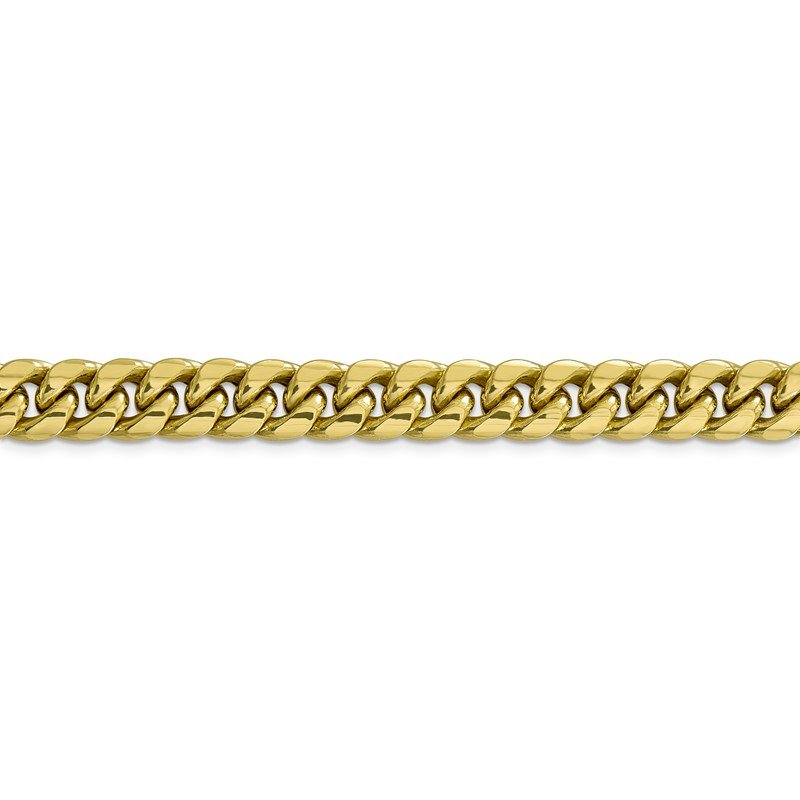 Quality Gold 10k 9.3mm Semi-Solid Miami Cuban Chain