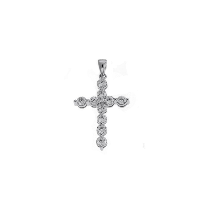 S. Kashi  & Sons Platinum Diamond Cross